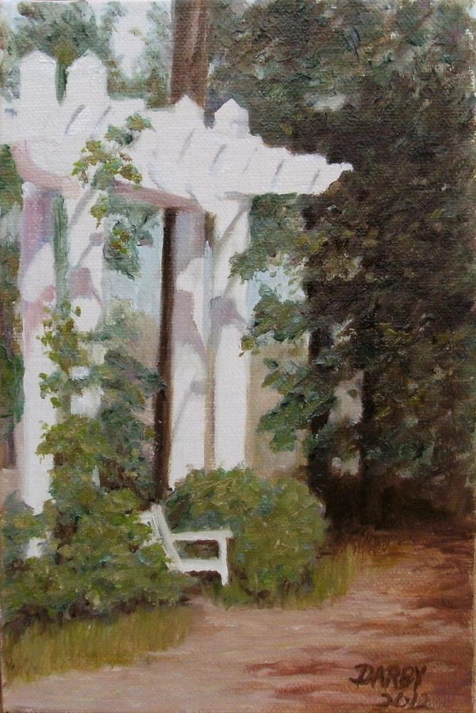 """Sunny Respite"" original fine art by Lynn Darby"