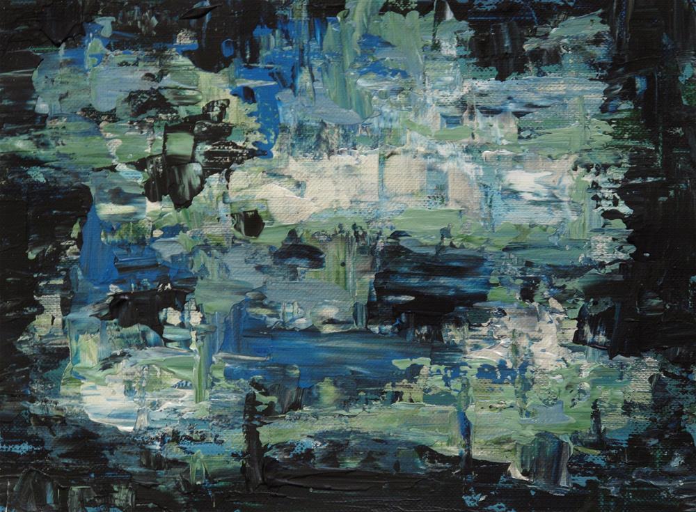 """Blue velvet"" original fine art by Anna Starkova"