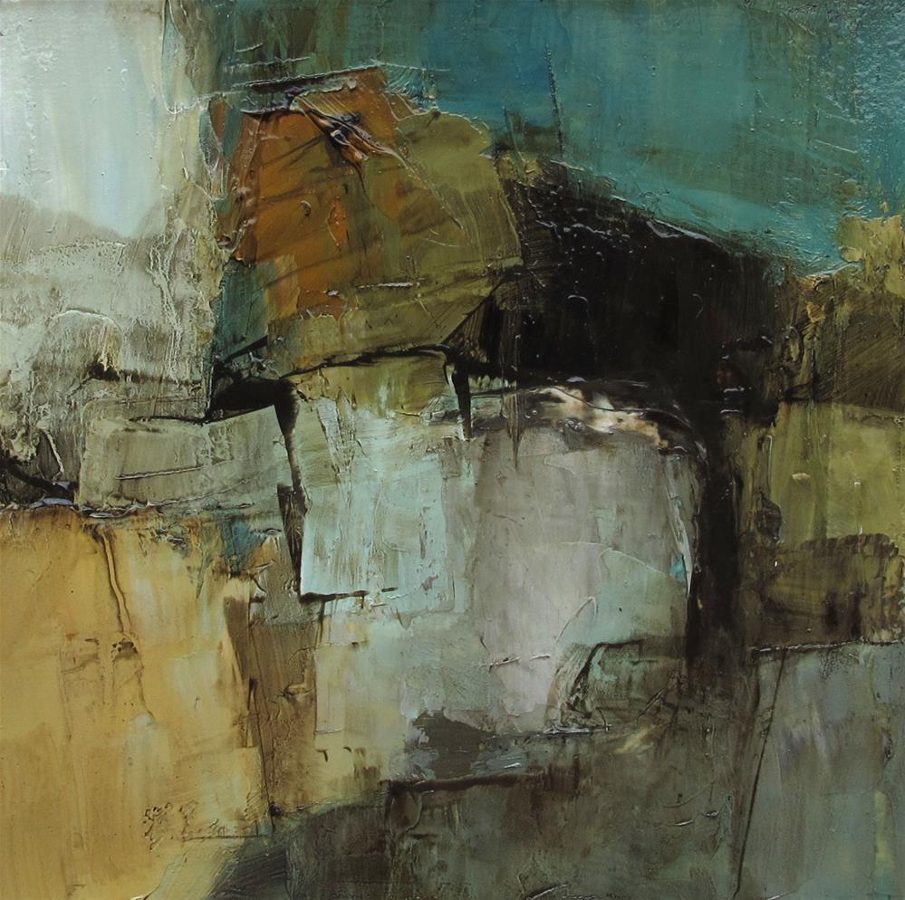 """Original Abstract Contemporary Modern Art Colette Davis Art Painting OIL"" original fine art by Colette Davis"