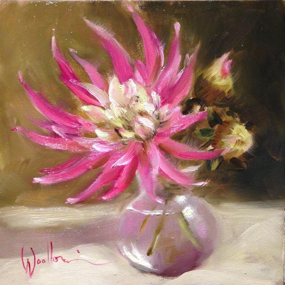 """""""Dahlia"""" original fine art by Dorothy Woolbright"""