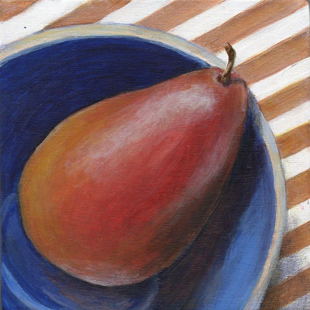"""Sitting Back"" original fine art by Debbie Shirley"