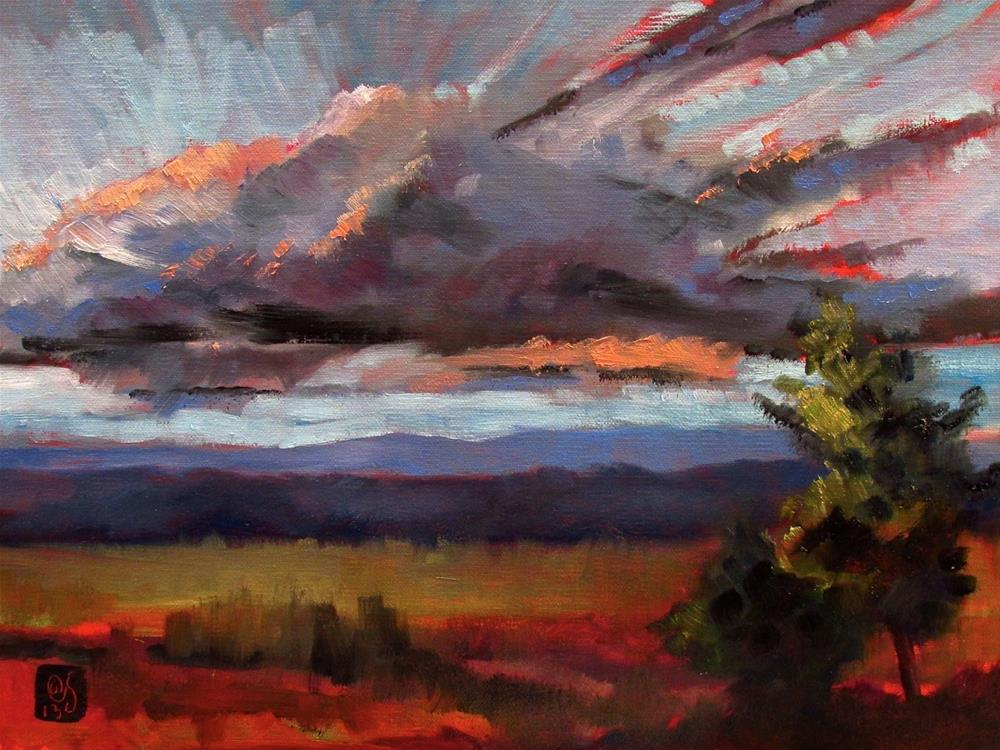 """Shawangunk Morning"" original fine art by Aurelio Saiz"