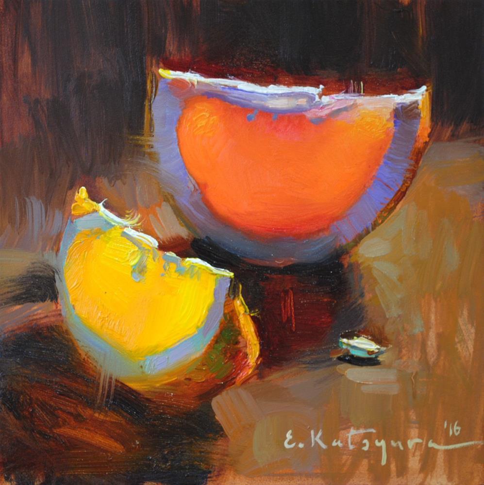 """Spring Citrus"" original fine art by Elena Katsyura"