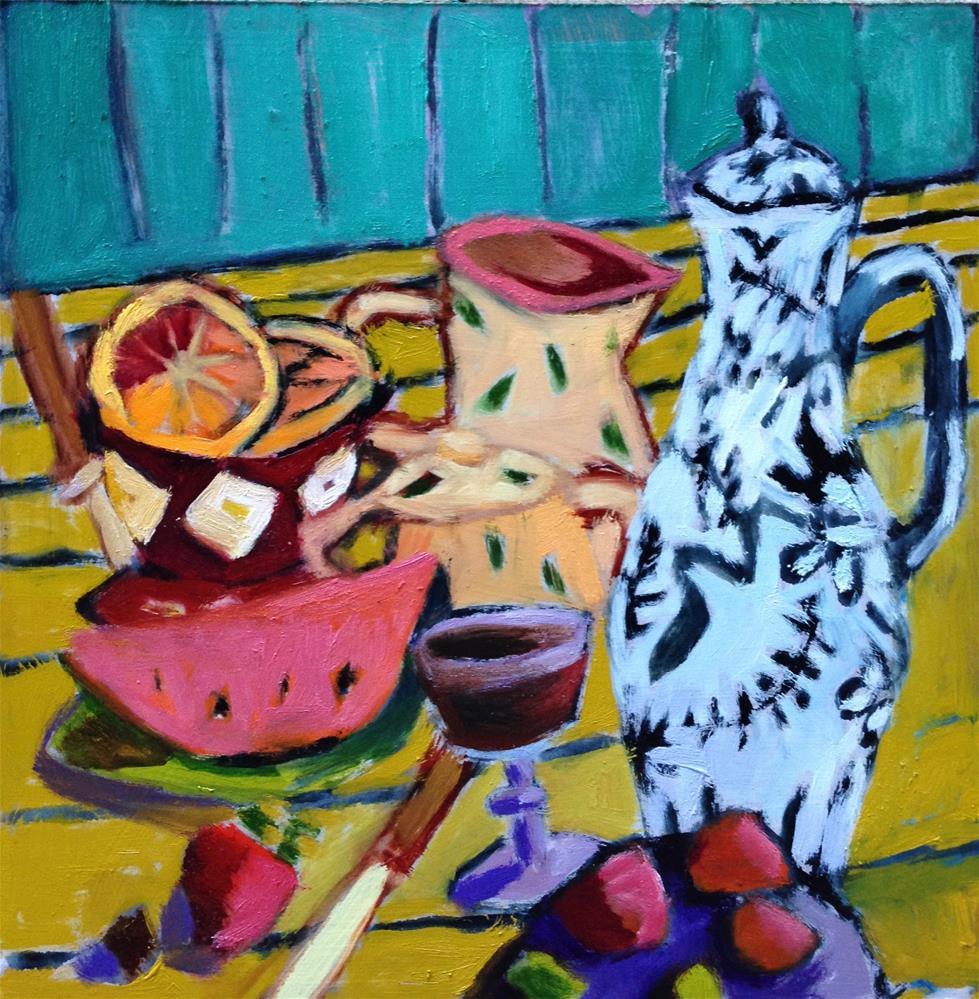 """Sometimes"" original fine art by Pamela Hoffmeister"
