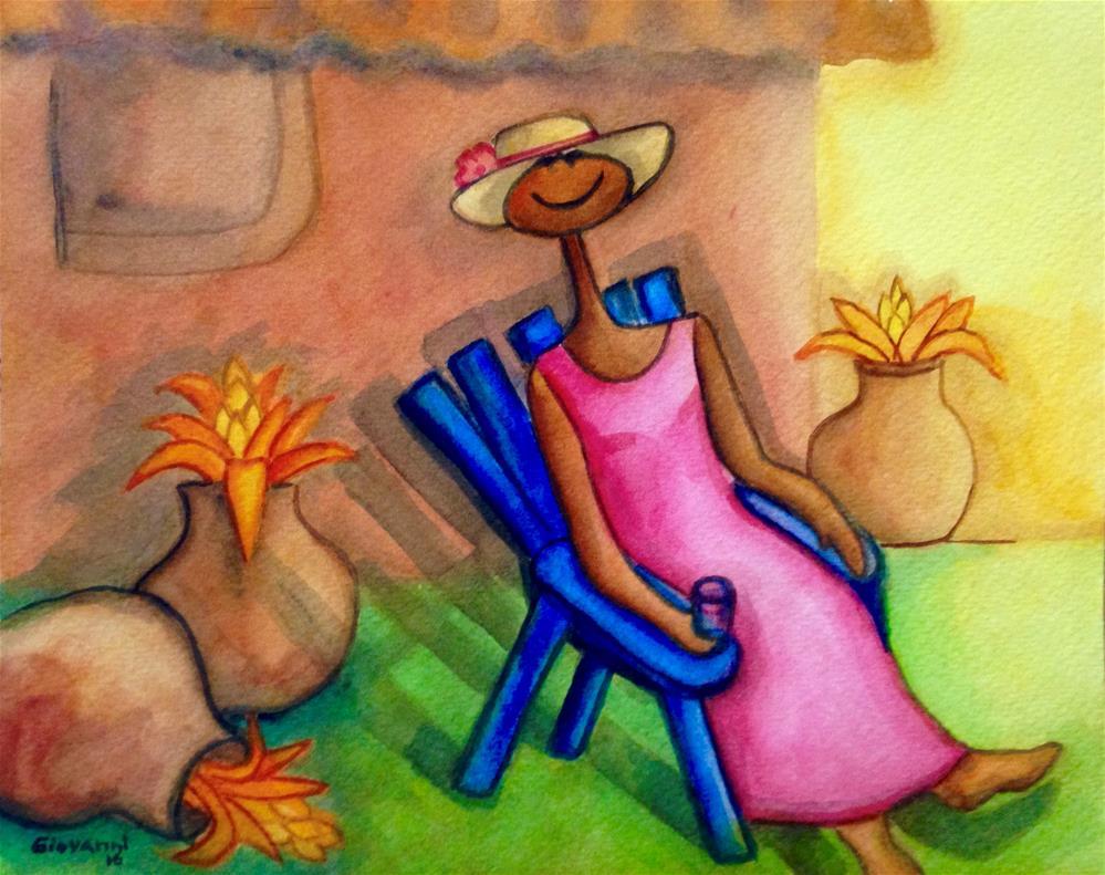 """Fresh air"" original fine art by Giovanni Antunez"