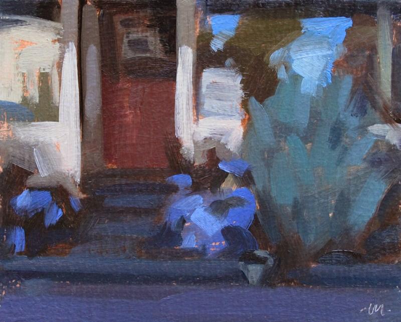 """Mini Storefront"" original fine art by Carol Marine"