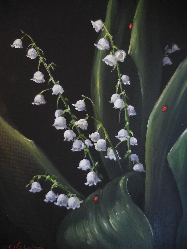 """The Return of Happiness"" original fine art by Terri Nicholson"