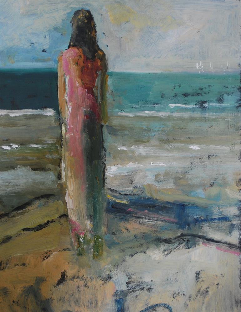 """Wishful Thinking"" original fine art by Deborah Harold"