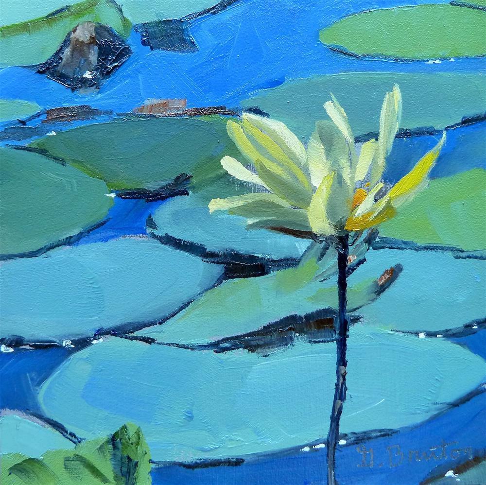 """Lotus"" original fine art by Gary Bruton"