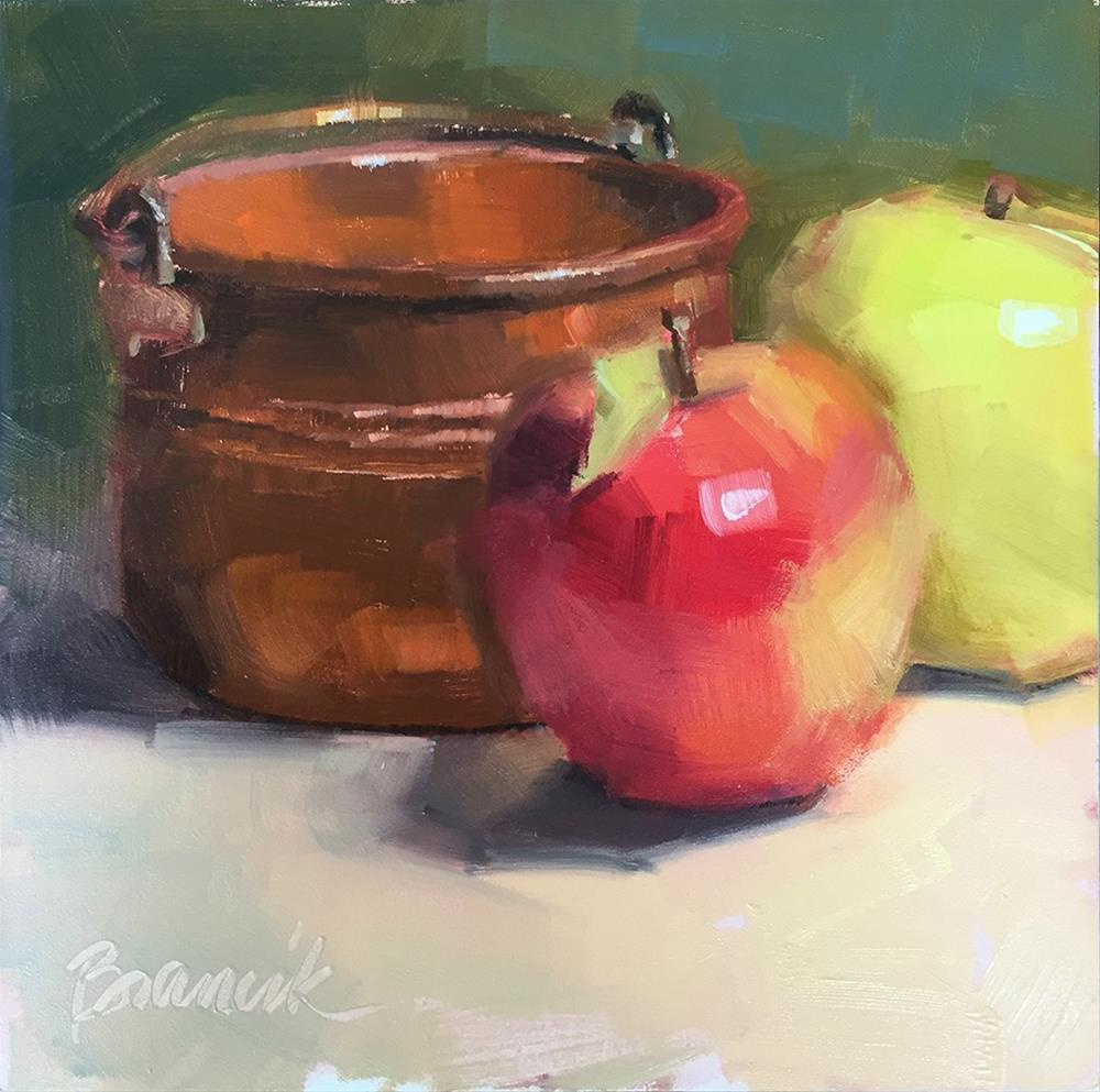 """Little Copper Pot"" original fine art by Candace Brancik"