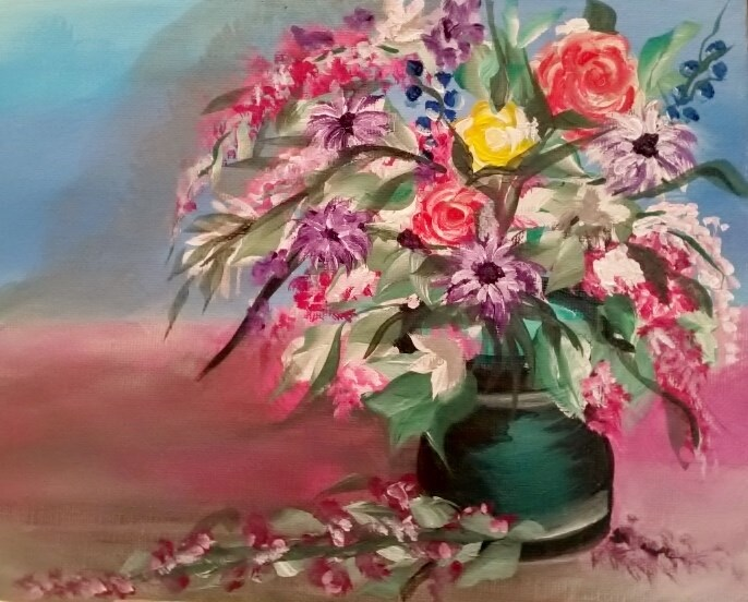 """Holding On To Summer"" original fine art by Susan Belisle"