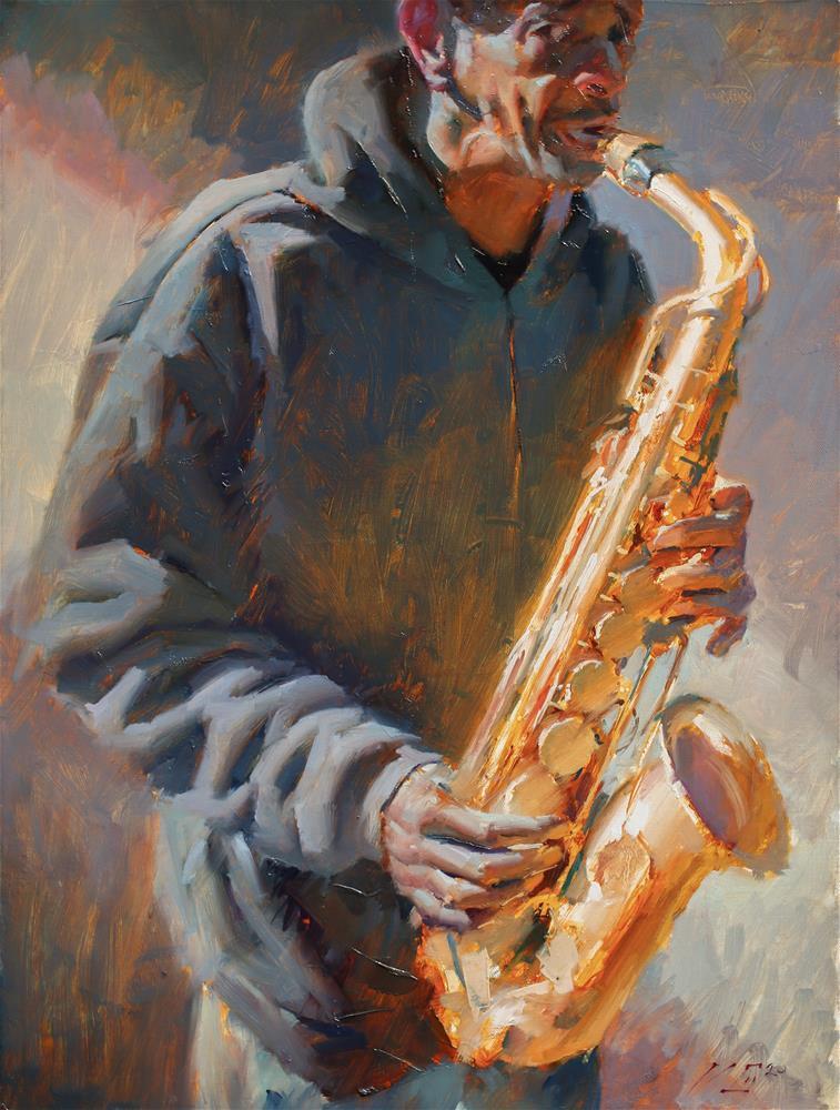 """In Harmony №6"" original fine art by Dimitriy Gritsenko"