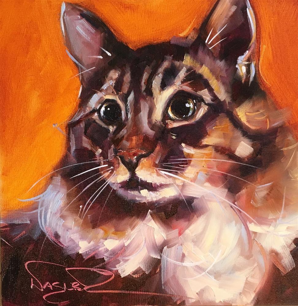 """Nico"" original fine art by Olga Wagner"