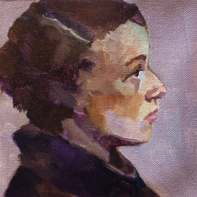 """Small Series #50"" original fine art by Katie Wilson"