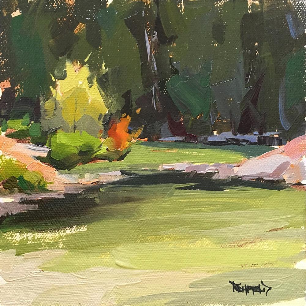 """Hood River Glacial Flour"" original fine art by Cathleen Rehfeld"