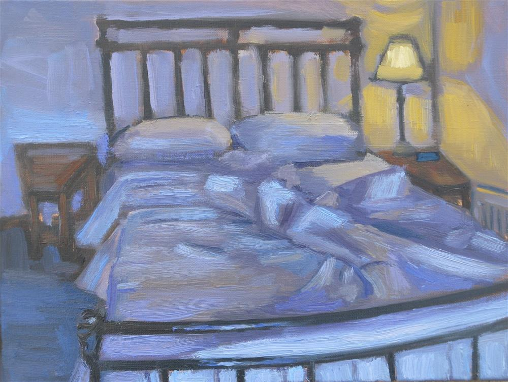 """Sleeping In"" original fine art by Heather Nibert"