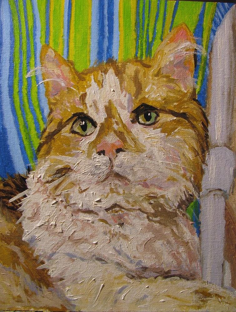 """Nala"" original fine art by Susan Elizabeth Jones"