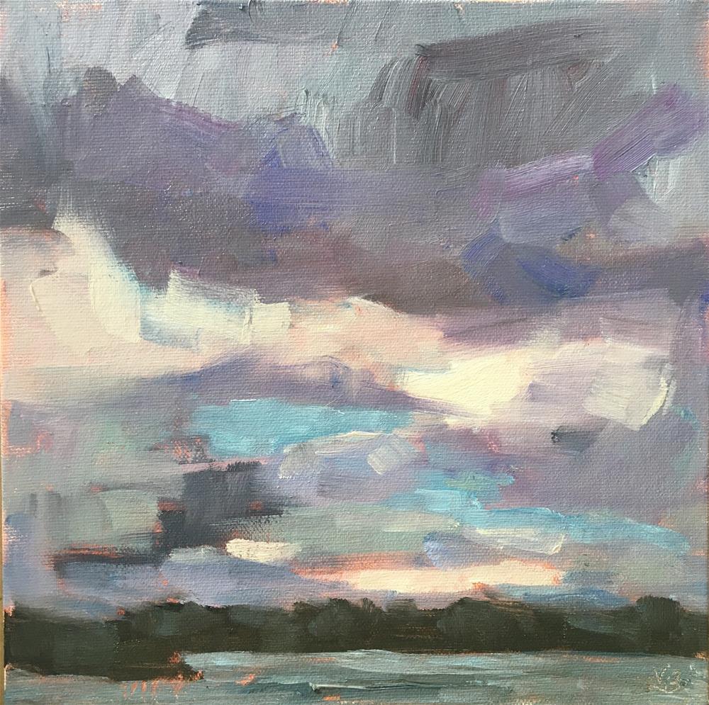 """Feels like Rain"" original fine art by Victoria  Biedron"