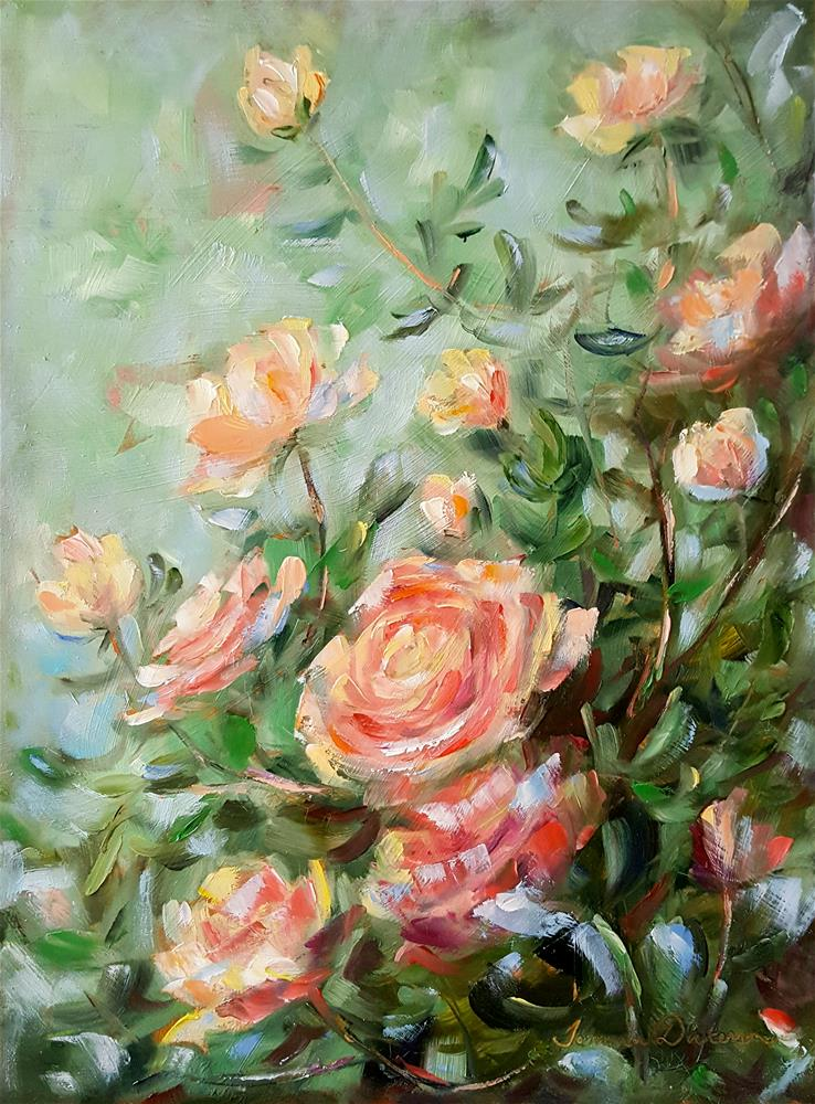 """""""A Dream of Roses"""" original fine art by Tammie Dickerson"""