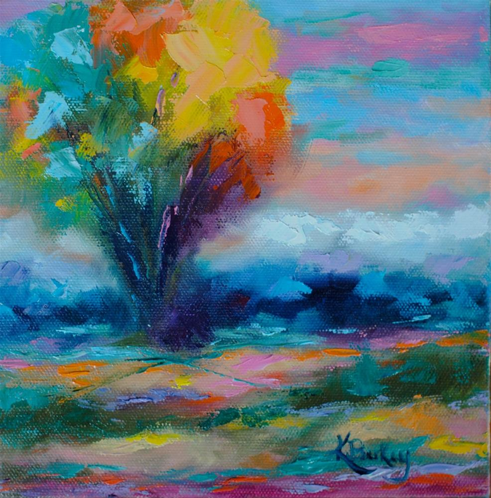 """""""Surreal Landscape"""" original fine art by Kelly Berkey"""