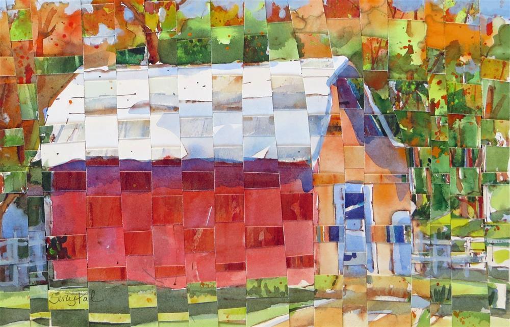 """Tennessee Barn"" original fine art by Suzy 'Pal' Powell"