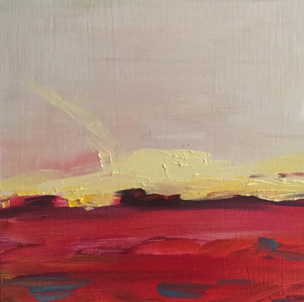 """sunset sky drama"" original fine art by Angela Hansen"
