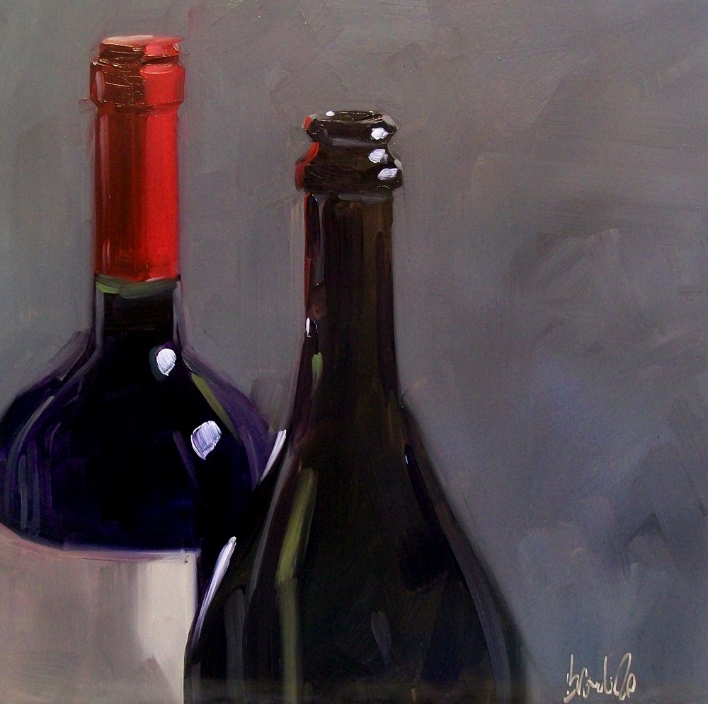"""Wino 29"" original fine art by Brandi Bowman"
