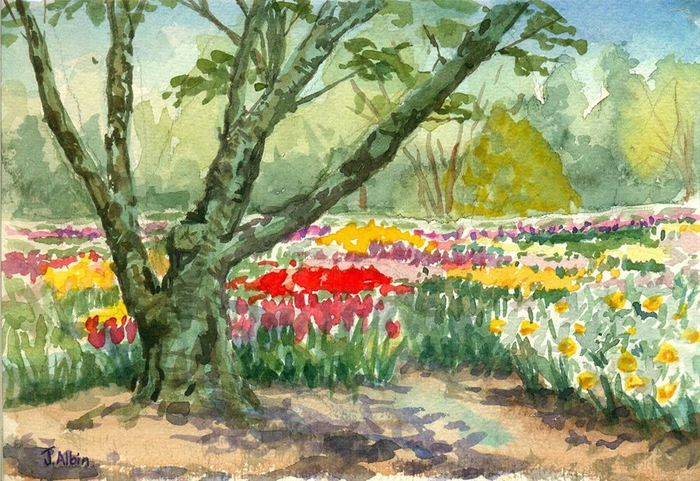 """Idea Garden 2014"" original fine art by Jane Albin"