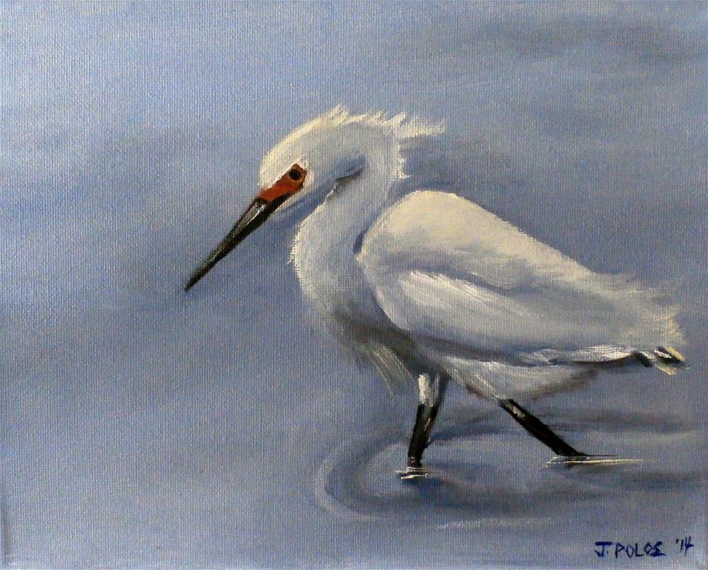 """""""Searching"""" original fine art by Joann Polos"""