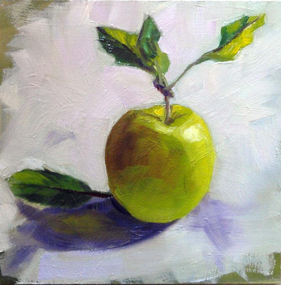 """""""An Apple A Day"""" original fine art by Cietha Wilson"""