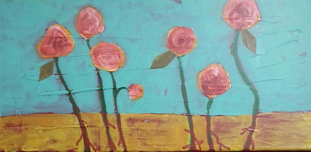 """Knockout Roses"" original fine art by Marie Lynch"