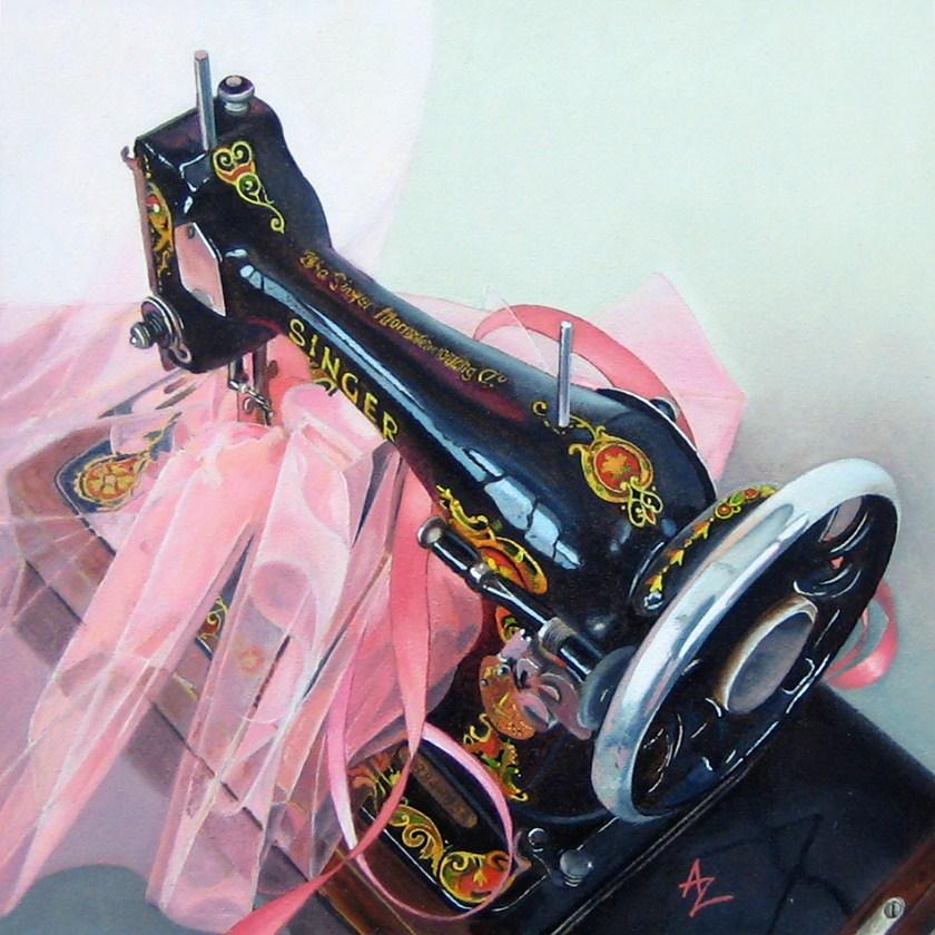"""Giselle"" original fine art by Alex Zonis"
