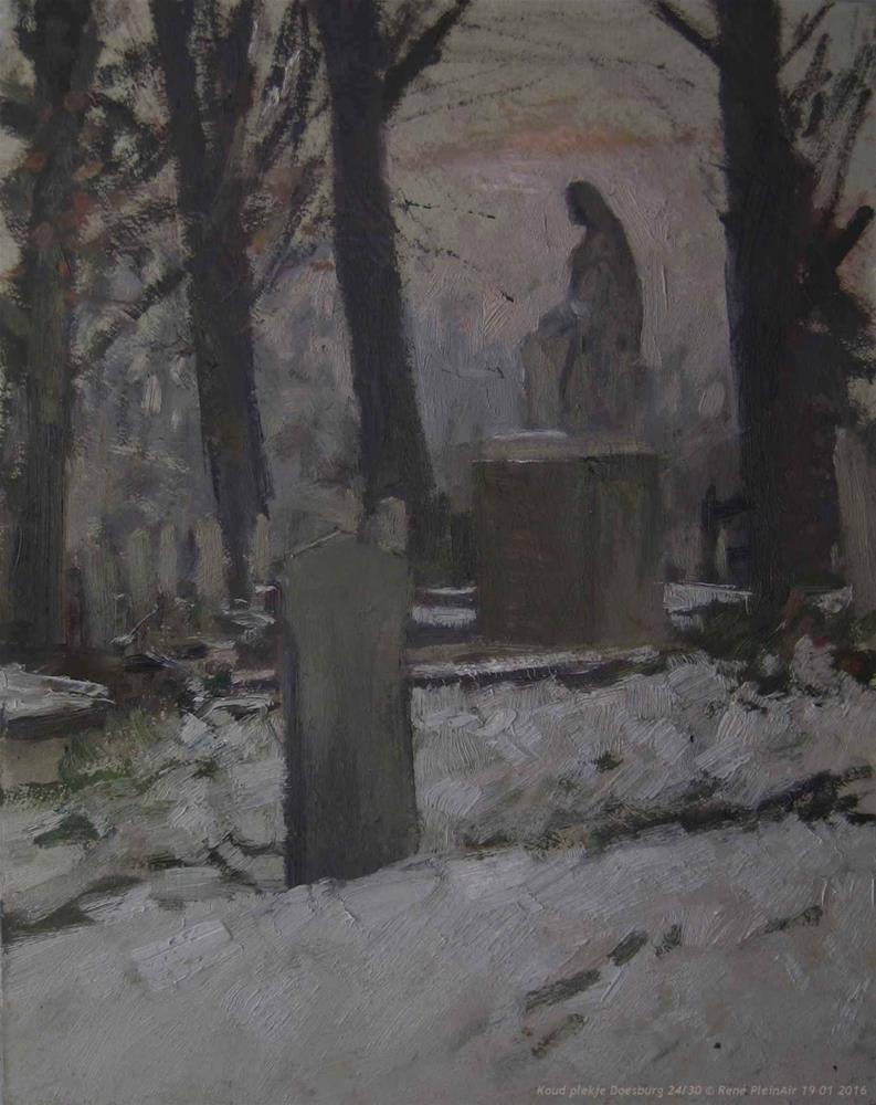 """""""Cold spot. Doesburg, The Netherlands."""" original fine art by René PleinAir"""