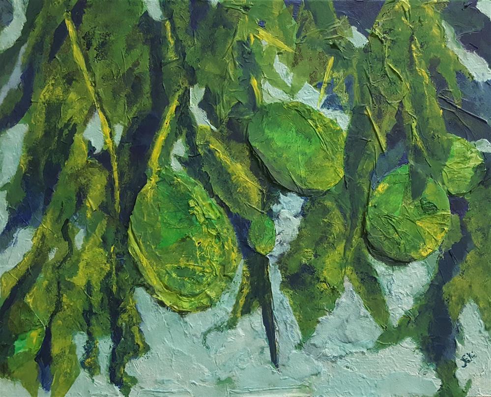 """Avocado Jumble"" original fine art by Niki Hilsabeck"
