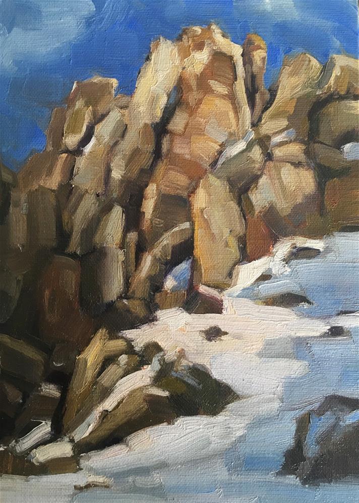 """""""Exploring-Idaho5"""" original fine art by Katya Minkina"""