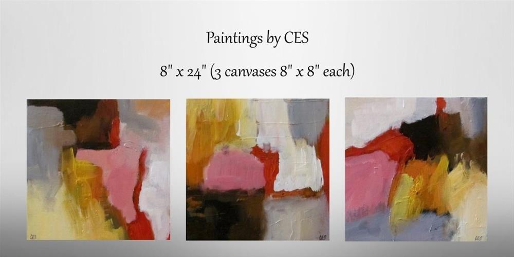 """""""Unfamiliar Place"""" original fine art by ~ces~ Christine E. S. Code"""