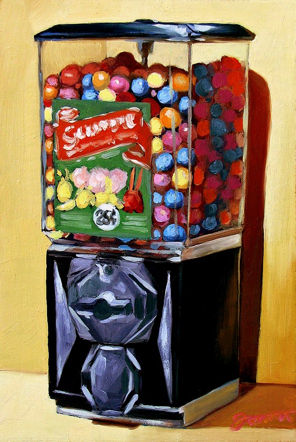 """Rainbow of Flavors-1"" original fine art by Joanna Bingham"