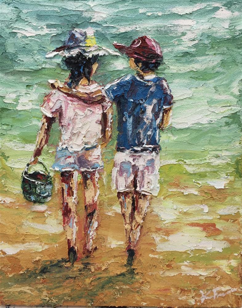 """Just Friends"" original fine art by Ken Fraser"