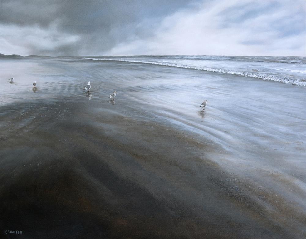 """The Stormwatchers"" original fine art by Renay Shaffer"