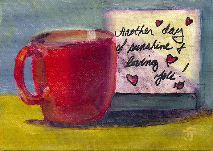 """Another Day of Loving You"" original fine art by Francine Dufour~Jones"
