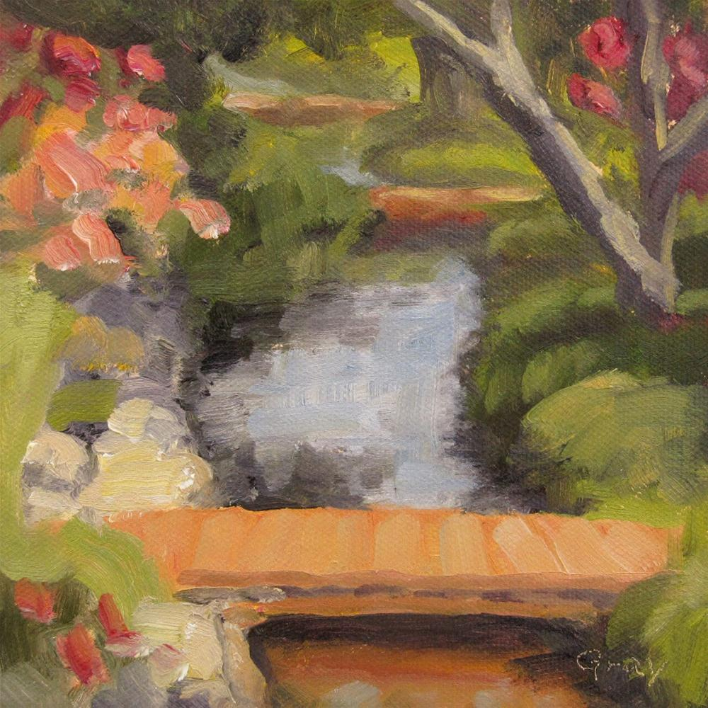 """Creek in Bishop"" original fine art by Naomi Gray"