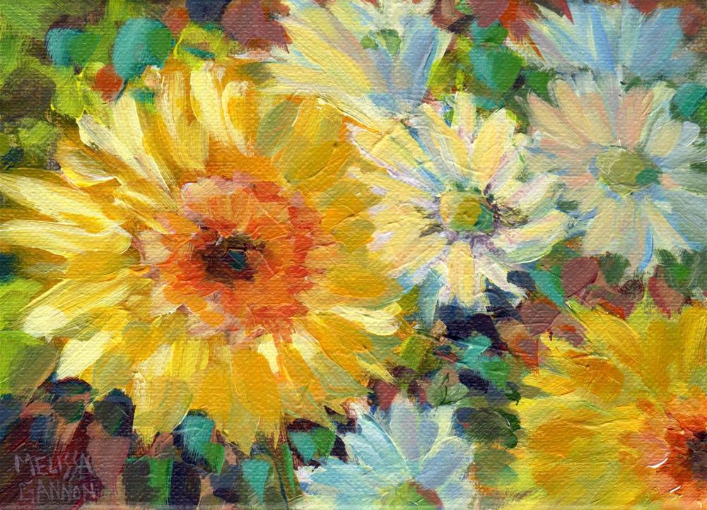 """Daisy Song"" original fine art by Melissa Gannon"