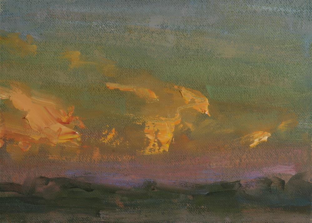"""Summer Sunrise 04"" original fine art by Scott Serafica"