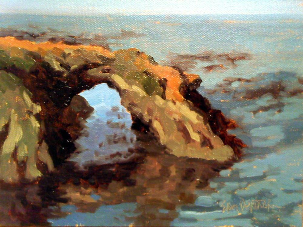"""Arch Across the Ocean"" original fine art by Erin Dertner"