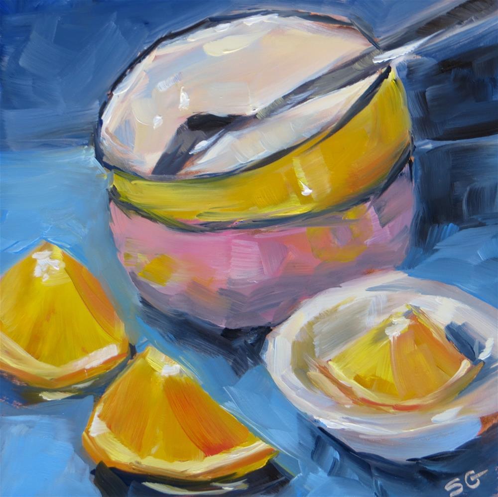"""Sunshine Morning"" original fine art by Susan Galick"