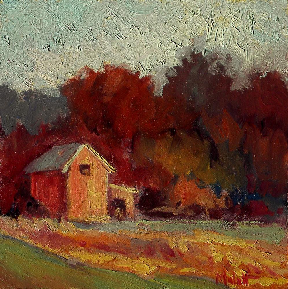 """Autumn Blaze"" original fine art by Heidi Malott"