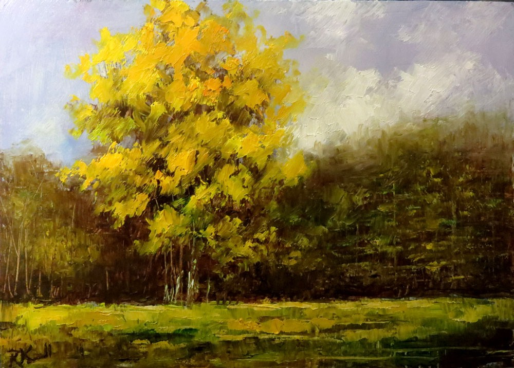 """Big Trees"" original fine art by Bob Kimball"