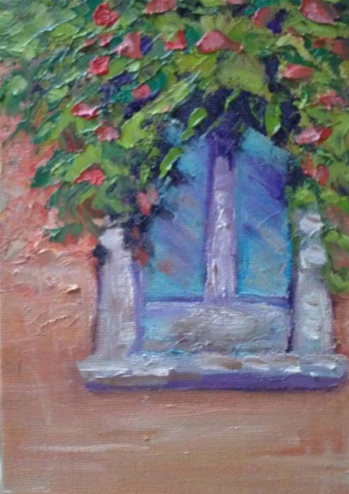"""The Window"" original fine art by Gerri Obrecht"