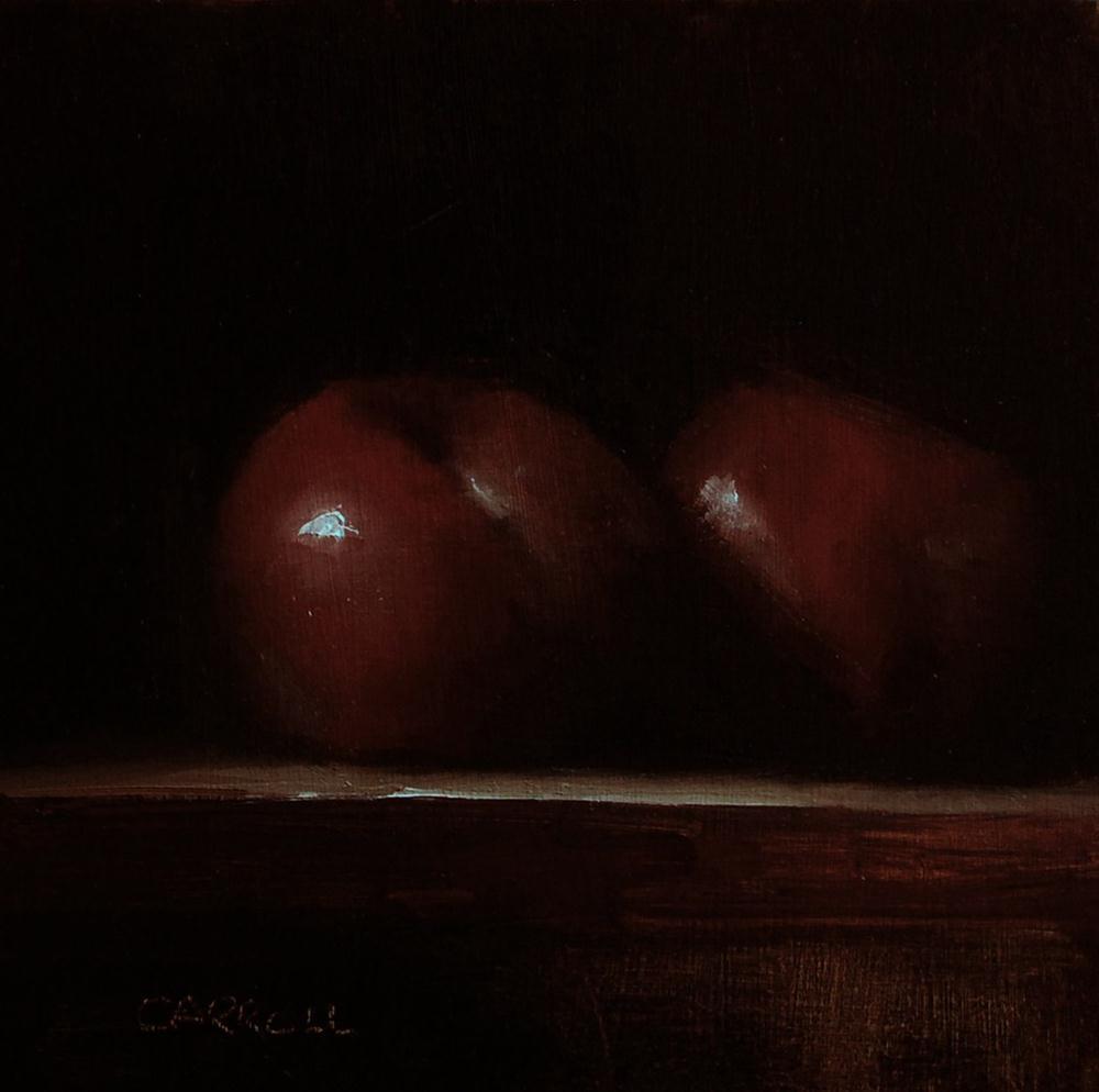 """""""Plums"""" original fine art by Neil Carroll"""