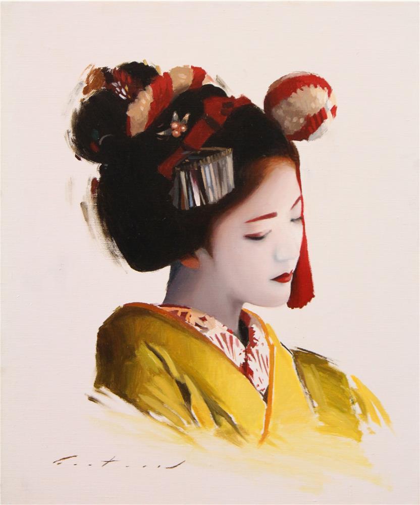 """Portrait of Katsuna"" original fine art by Phil Couture"